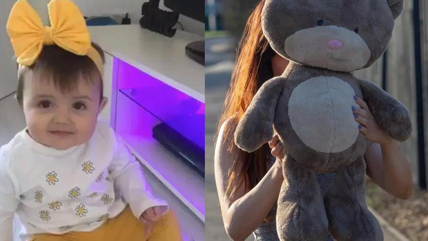 18 aylık bebek üzerine oyuncak ayının altında boğuldu
