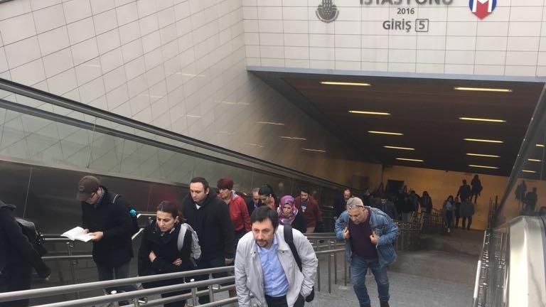 İstanbul Metrosu'nun merdivenleri yürümez oldu!