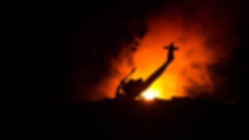 Rus helikopteri Suriye'de düştü! 2 ölü