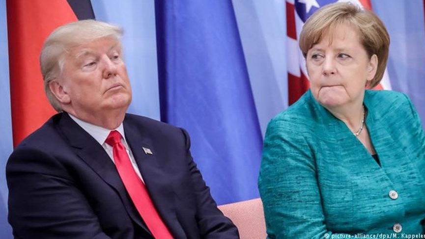 'Trump'ın Almanya'yı doğalgaz projesinde sıkıştırdığı' iddiası