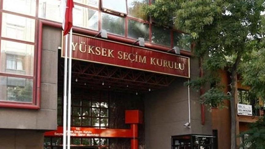 Cumhurbaşkanı adaylığı için 4 parti YSK'ya başvurdu