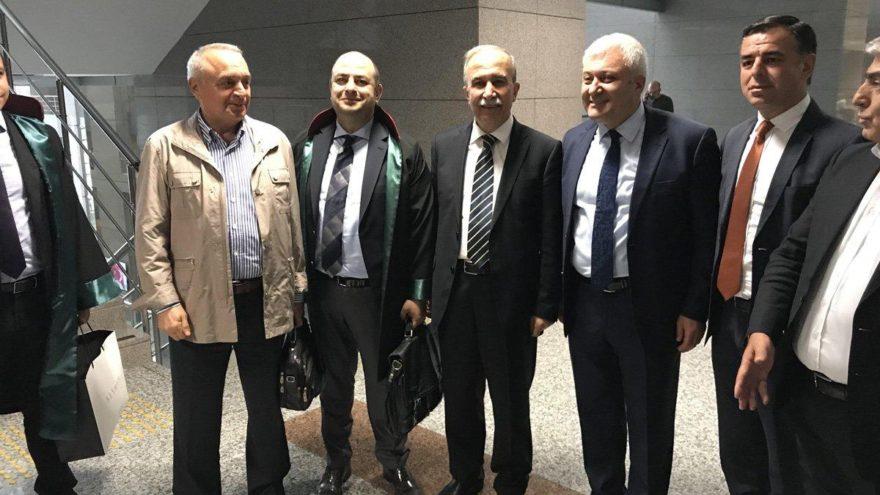 Hanefi Avcı ve Sabri Uzun, Berberoğlu'na tanık oldu
