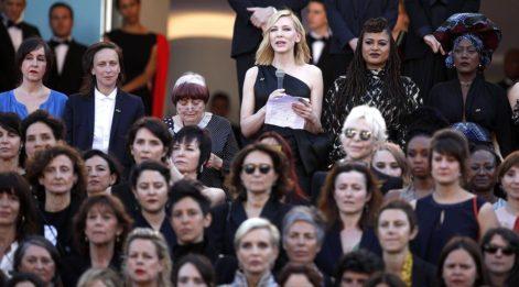 Cannes'da cinsiyet eşitsizliğine sessiz protesto