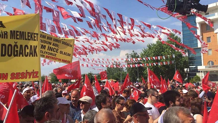 CHP Cumhurbaşkanı adayı Muharrem İnce Edirne'de konuşacak