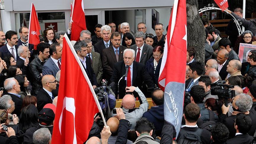 Vatan Partisi'nden istifa açıklaması!