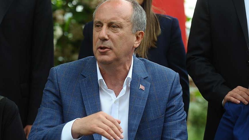 Muherrem İnce'den Bilal Erdoğan'a: 'Söyleyecek sözün varsa mikrofonu babana ver'