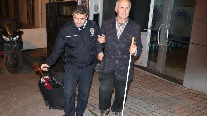 Vicdansızlar, görme engellinin 55 lirasını çaldı