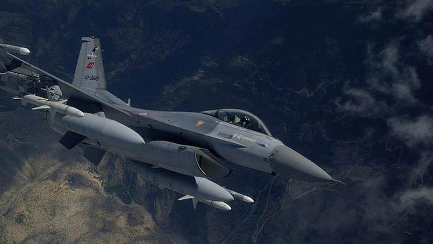 TSK Kuzey Irak'a hava destekli operasyon düzenledi