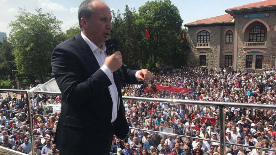 CHP'nin Cumhurbaşkanı adayı İnce Tarihi Meclis'ten startı verdi