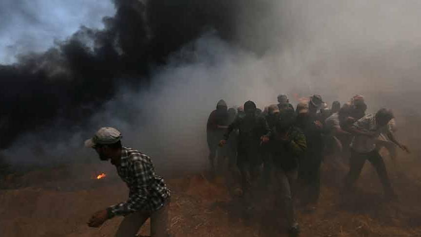 ABD, pimi çekti... İsrail askeri göstericilere ateş açtı... Ölü ve yaralılar var