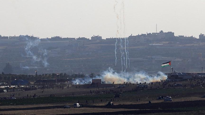 Son dakika: İsrail Gazze'yi havadan vurdu