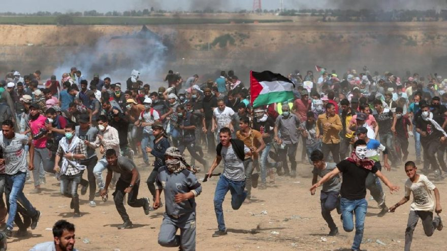 İsrail Filistin sınırında yine orantısız şiddete başvurdu