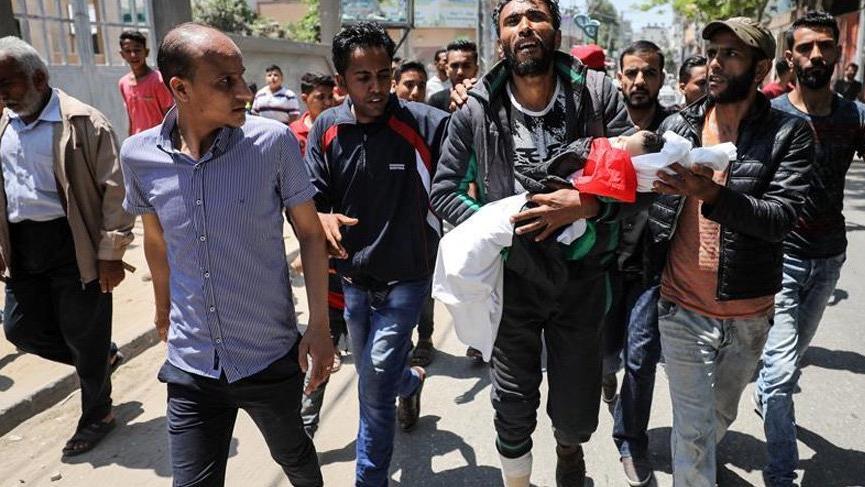 Gazze'de çekilen bu kare dünya medyasının gündemine oturdu