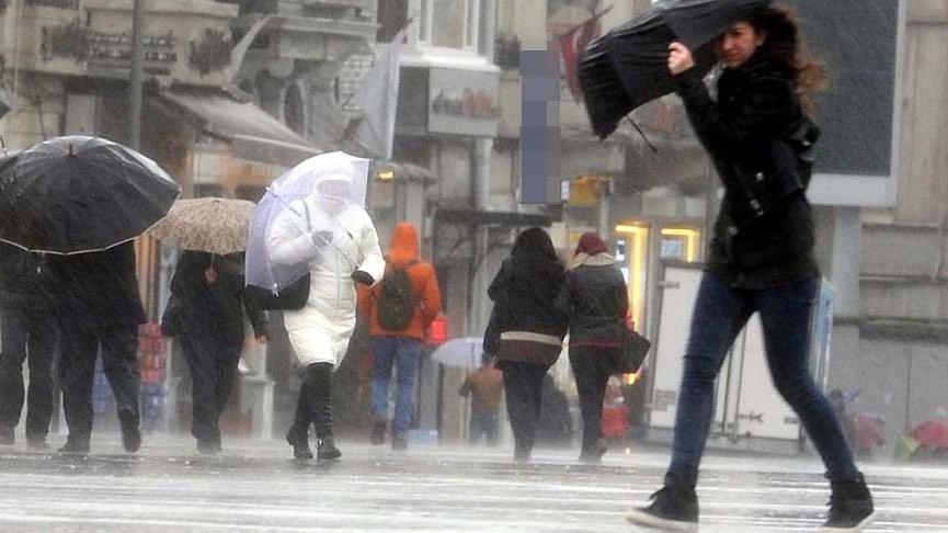 Meteoroloji: 21 ilde kuvvetli yağış