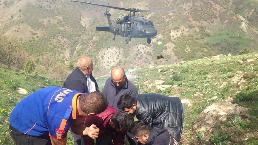 Milli Eğitim Müdürü askeri helikopterle hastaneye kaldırıldı