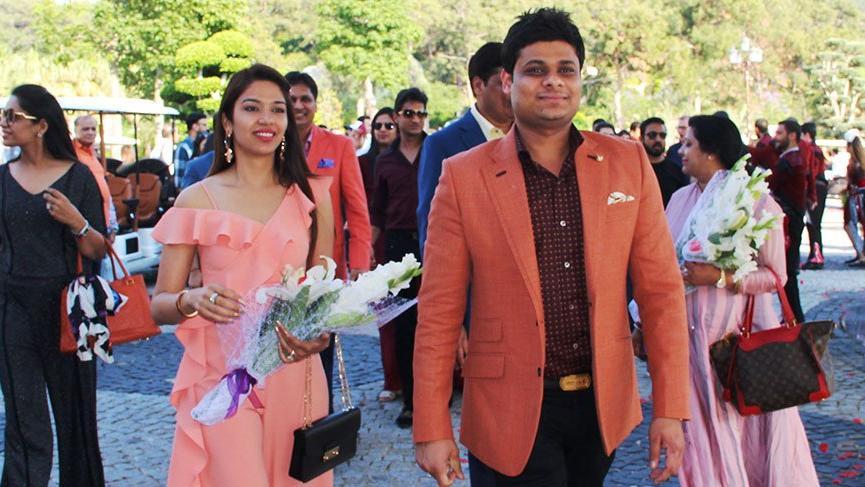 Trump'ın ortağından Muğla'da 5 milyon dolarlık Hint düğünü
