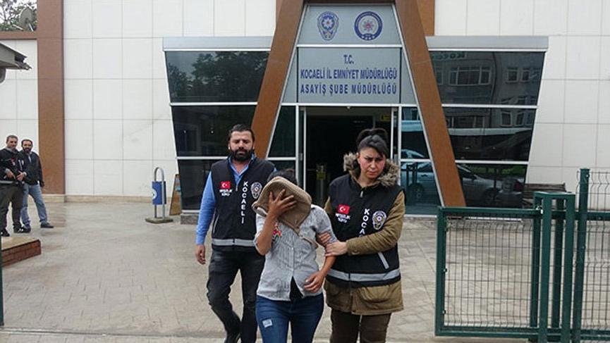 69 sabıkası olan 8 aylık hamile kadın hırsızlık yaparken yakalandı