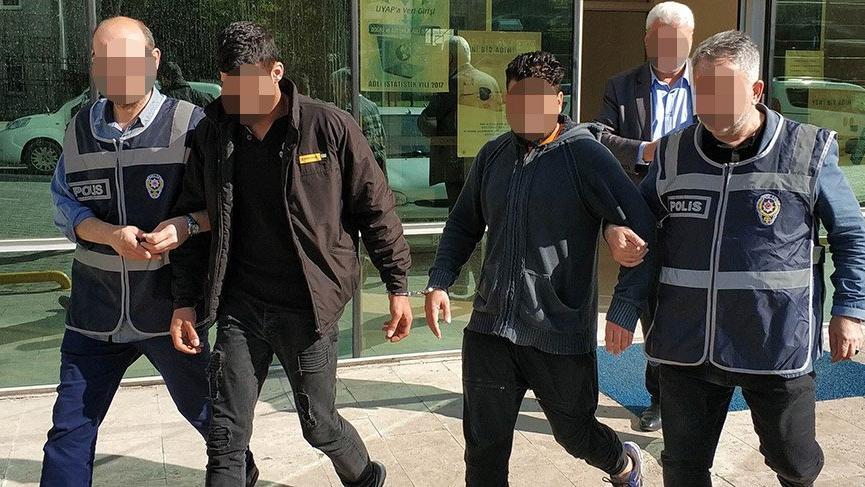 Serbest bırakılan IŞİD'liler çocuk pornosu izlemekten tutuklandı