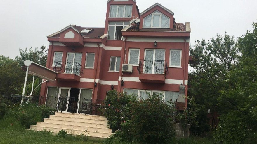 İstanbul'da lüks villaya uyuşturucu baskını