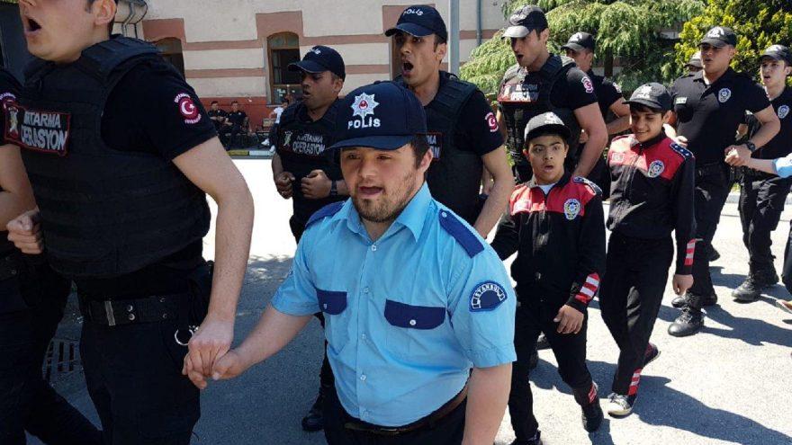 Engin gönüllüler İstanbul Emniyeti'nde