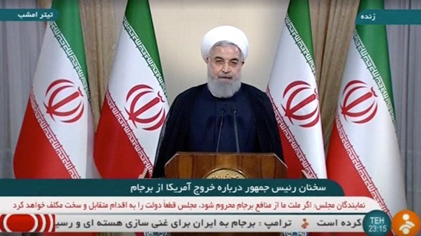 Son dakika: İran'dan bozulan anlaşmayla ilgili ilk açıklama