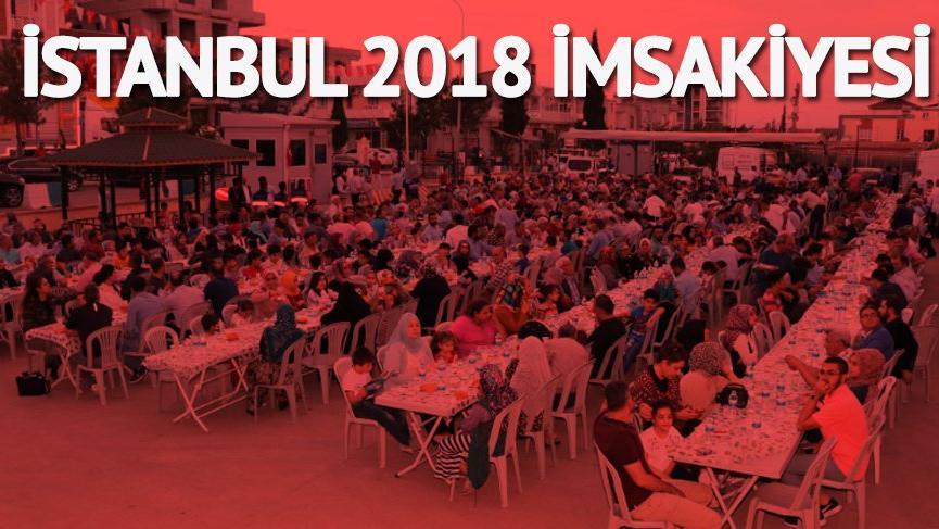 İstanbul'da iftar vakti: İstanbul'da iftar ve sahur ne zaman? İftara kaç saat kaldı? İşte 2018 imsakiyesi