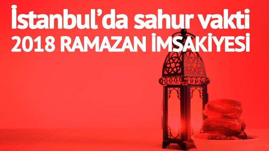 2018 RAMAZAN İMSAK VAKTİ: İstanbul'da sahur ne zaman bitiyor? Sahura kaç saat kaldı?