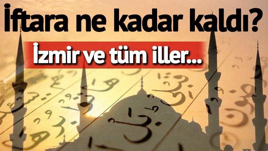 İftar ve sahur saatleri: İzmir için iftar vakitleri