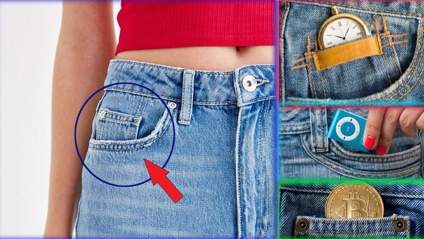 Jean pantolonlardaki cebin gerçekten ne işe yaradığını biliyor musunuz?