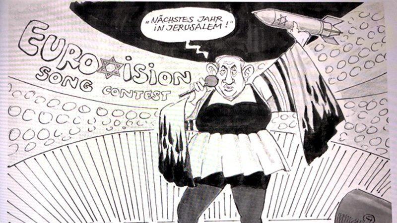 Olay yaratan karikatürün çizeri kovuldu!