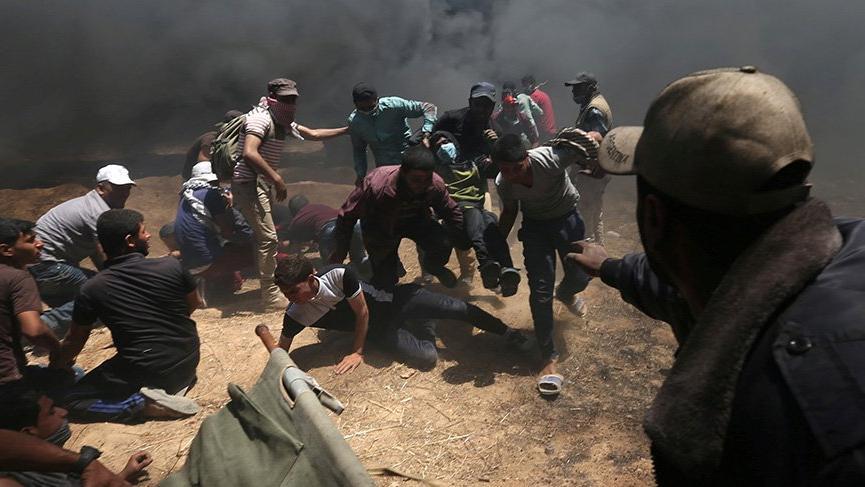 İsrail terör estirdi: Onlarca ölü binlerce yaralı var
