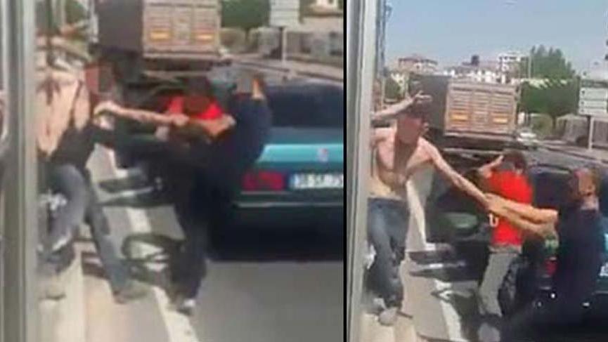 Kayseri'de iki kişi bir kişiyi öldüresiye dövdü