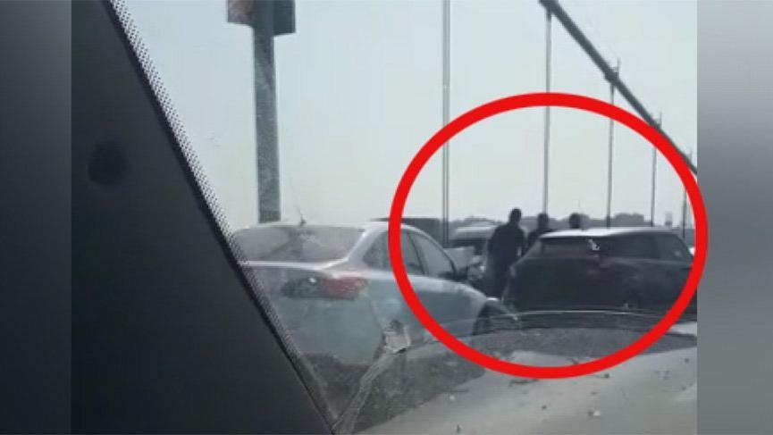 FSM'de zincirleme kaza! Trafik durma noktasına geldi