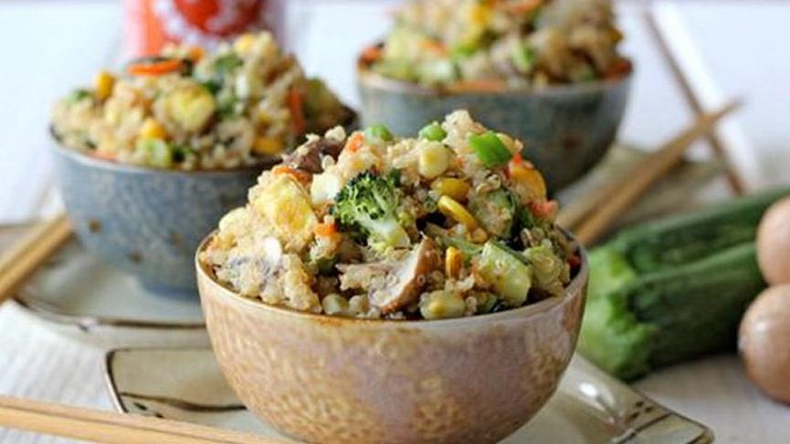 Kinoa salatası nasıl yapılır? İşte sağlık deposu kinoa salatası tarifi