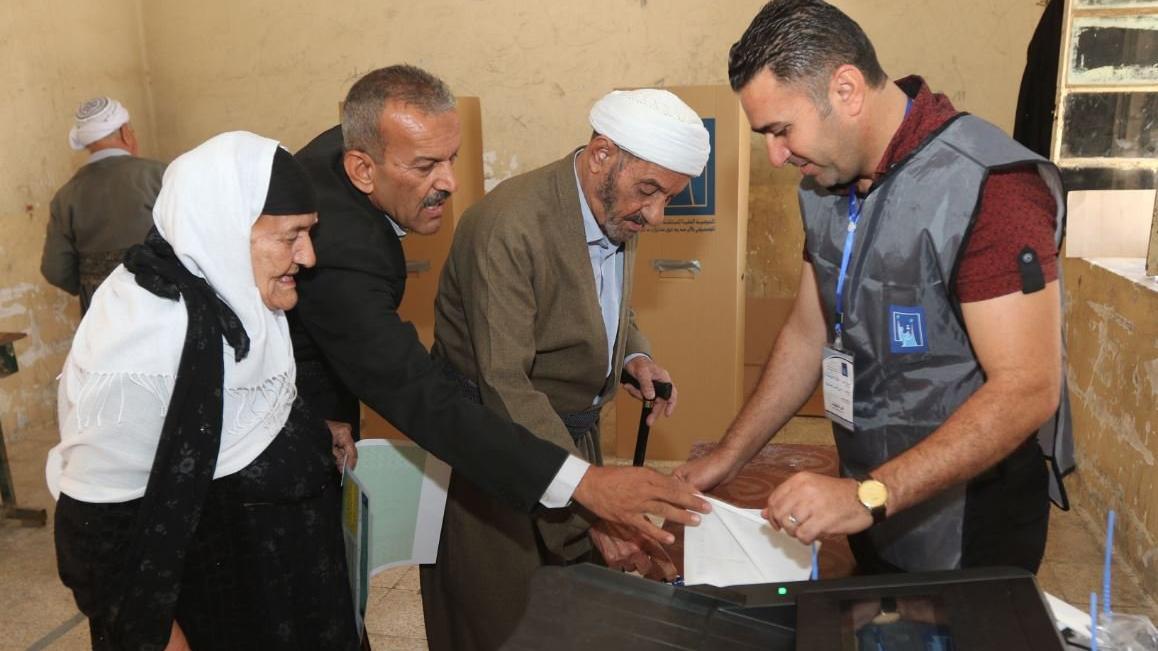 Kerkük'teki seçim merkezi kuşatma altında