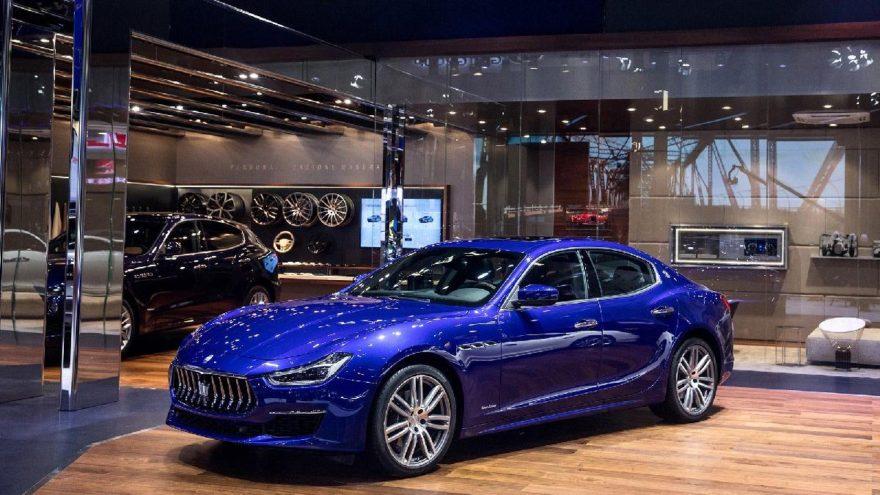 Maserati'den Akdeniz hamlesi