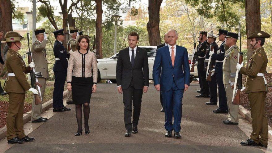 """Macron'dan Avustralya Başbakanı'nın eşine: """"Leziz"""""""