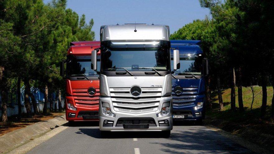 Mercedes-Benz Türk çekici portföyüne yeni araçlar ekliyor