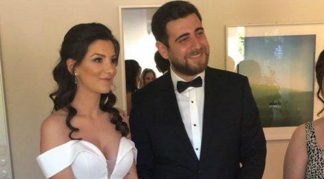 Oyuncu Mert Türkoğlu Stockholm'de evlendi