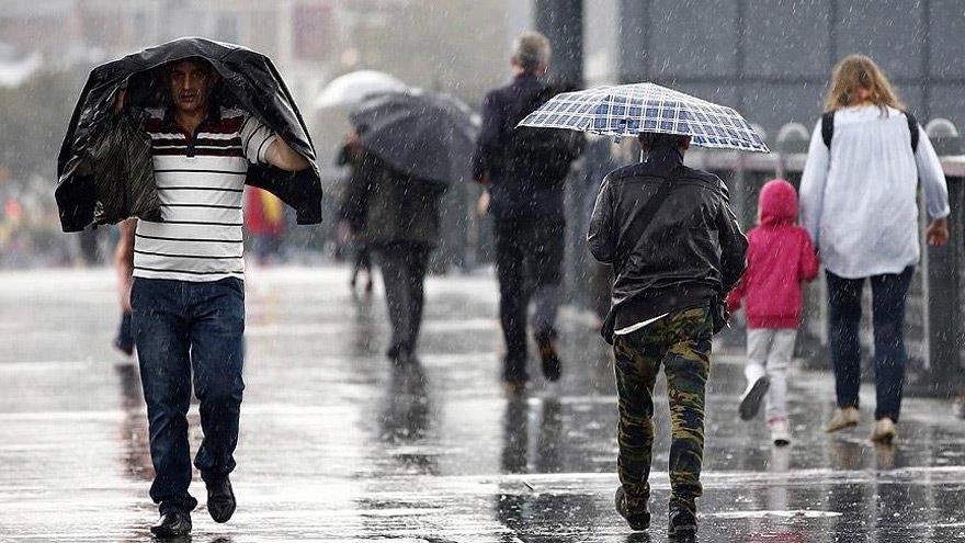 Meteoroloji'den Bursa, Kocaeli ve Yalova için kuvvetli yağış uyarısı (27 Mayıs hava durumu)