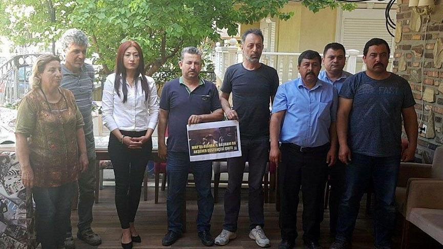 MHP Didim'de 23 kişi görevlerinden istifa etti