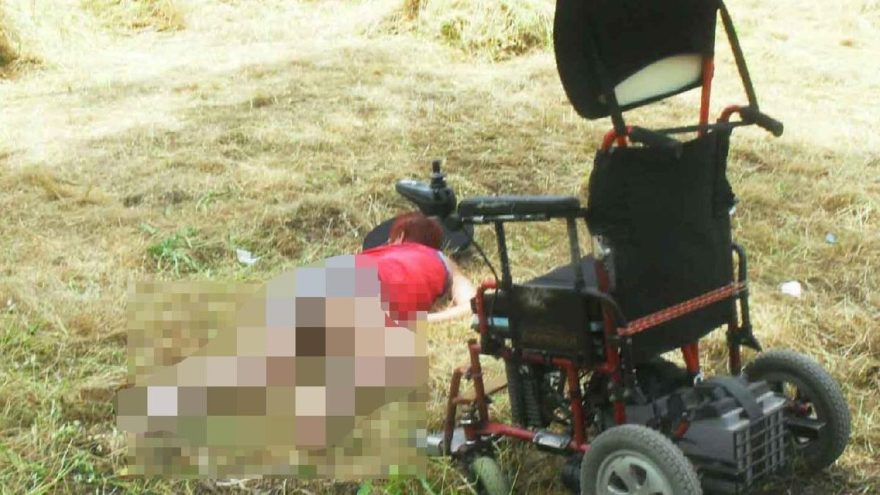 Engelli kadından darp iddiası