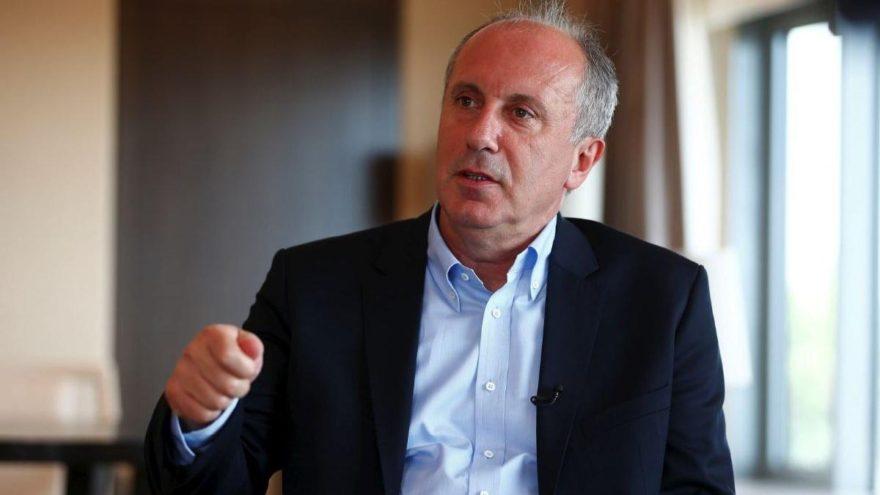 İnce: Erdoğan'ın faiz söylemleri memleketi uçuruma götürüyor