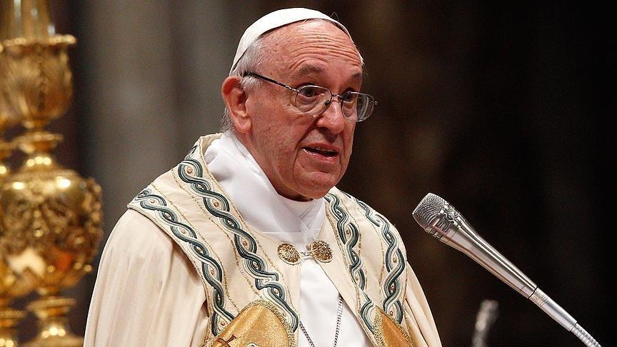Papa'dan Gazze'deki katliama tepki