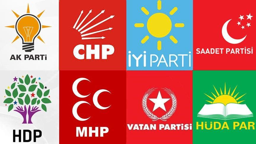 İşte tüm partilerin 24 Haziran seçimleri için milletvekili aday listeleri