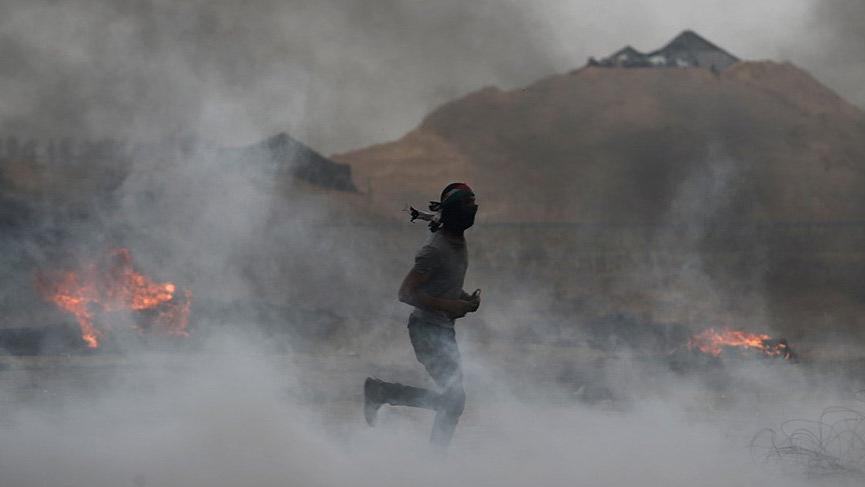 Gazze'de meydana gelen patlamada 5 kişi hayatın kaybetti