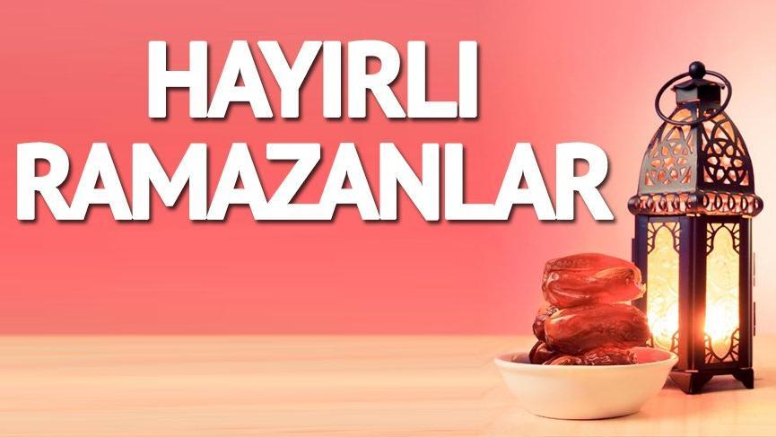 Ramazan mesajları: Anlam dolu ramazan mesajlarıyla, sevdiklerinize ramazan mesajı atabilirsiniz...
