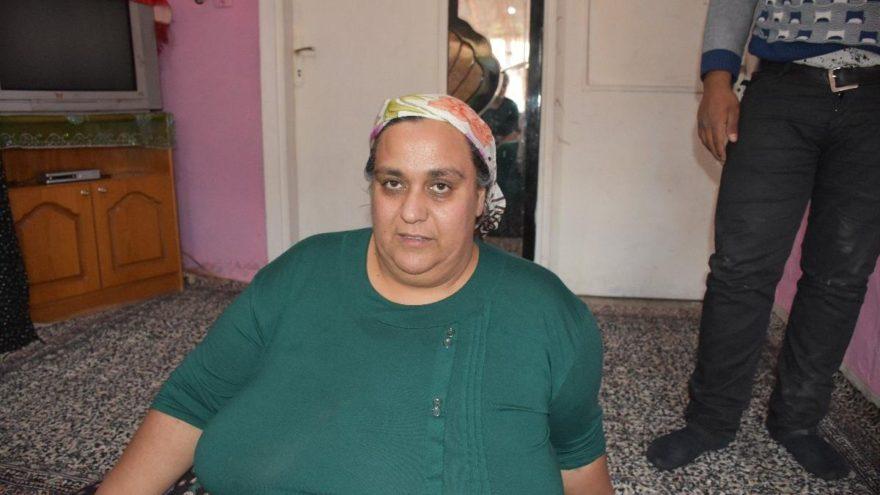 250 kiloya ulaşan kadın hastaneden evine itfaiye yardımıyla döndü