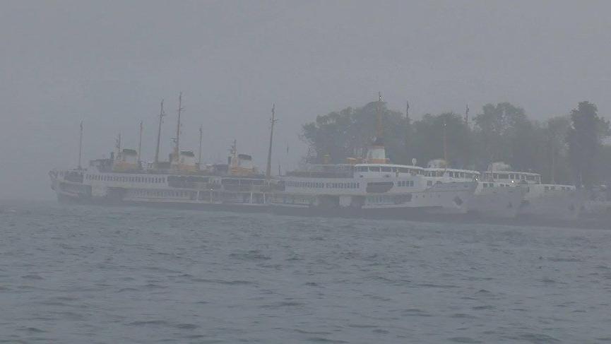 İstanbul'da yoğun sis seferleri iptal ettirdi