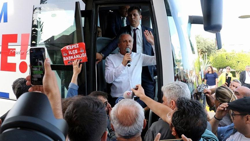 Cumhurbaşkanı adayı İnce: Dördüncü köprüyü de İnce yapar